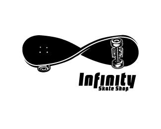 INFINITY Skate Shop (Black)