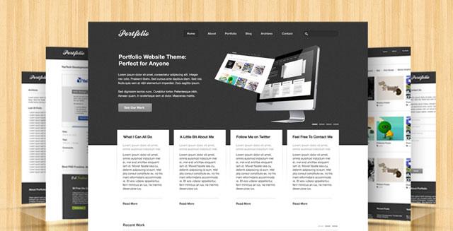 Free Portfolio PSD Theme