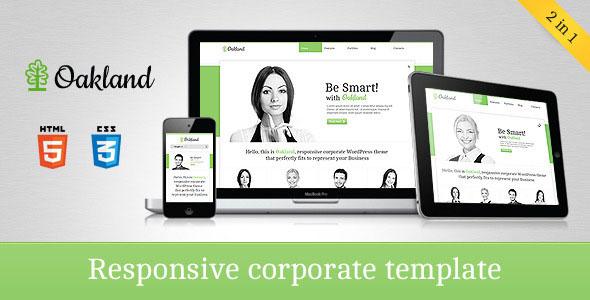 Oakland - Responsive Corporate HTML5 Template