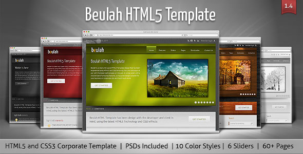 Beulah - Corporate & Business HTML Template