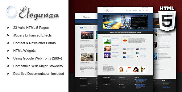 Eleganza Corporate Business Template