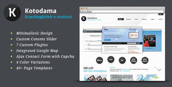 Kotodama - HTML Business Theme