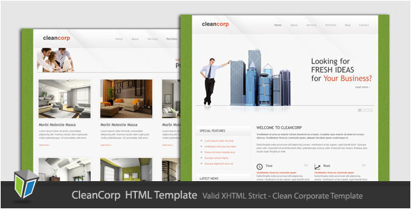 Cleancorp - Corporate Business HTML Template