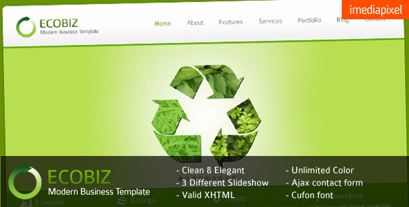ECOBIZ - Corporate and Business HTML Template