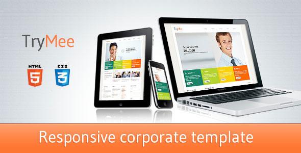 TryMee - Premium Responsive HTML5 Template