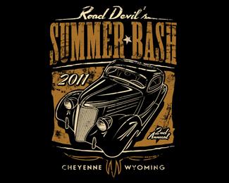 Summer Bash Event Logo