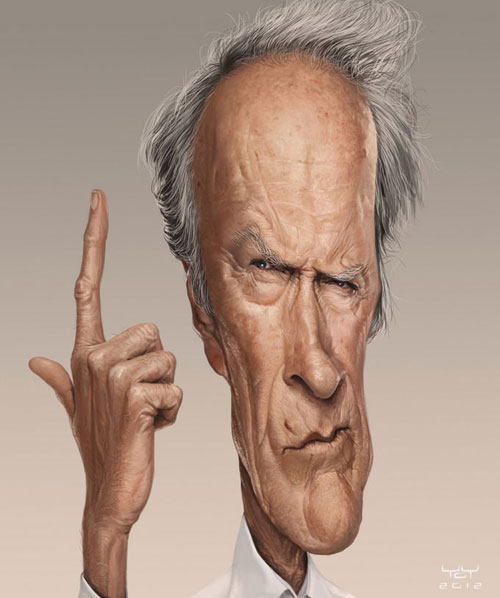 Clint Eastwood by Yoann LORI
