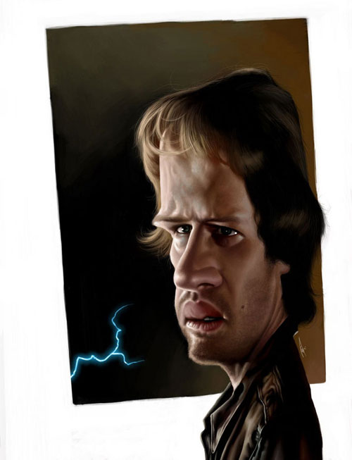 Christopher Lambert is immortal by Alex Gallego