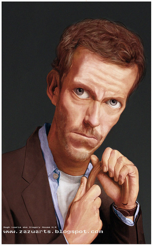 Gregory House M.D by Zakawi  Zulkefli