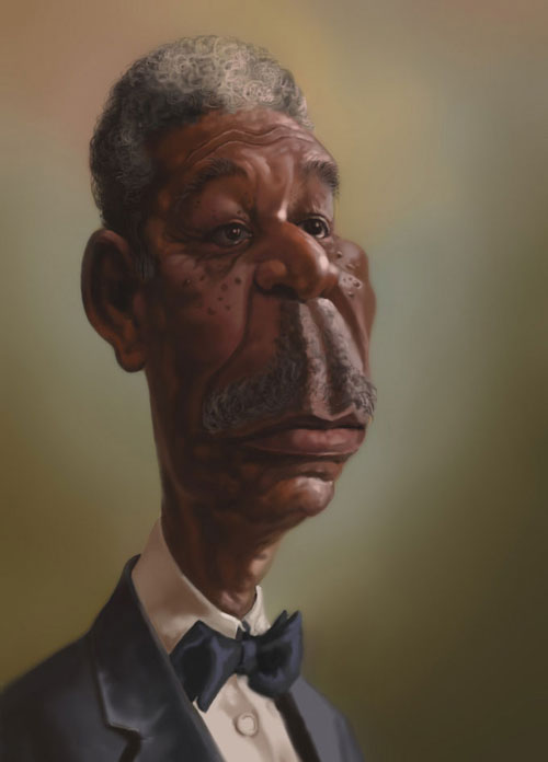 MORGAN FREEMAN by tukan gaurishankar