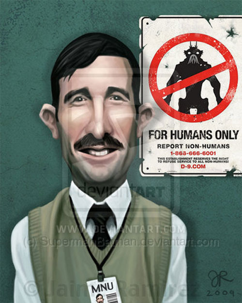 District 9 Caricature