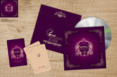 Shoka-CD Cover- Business card