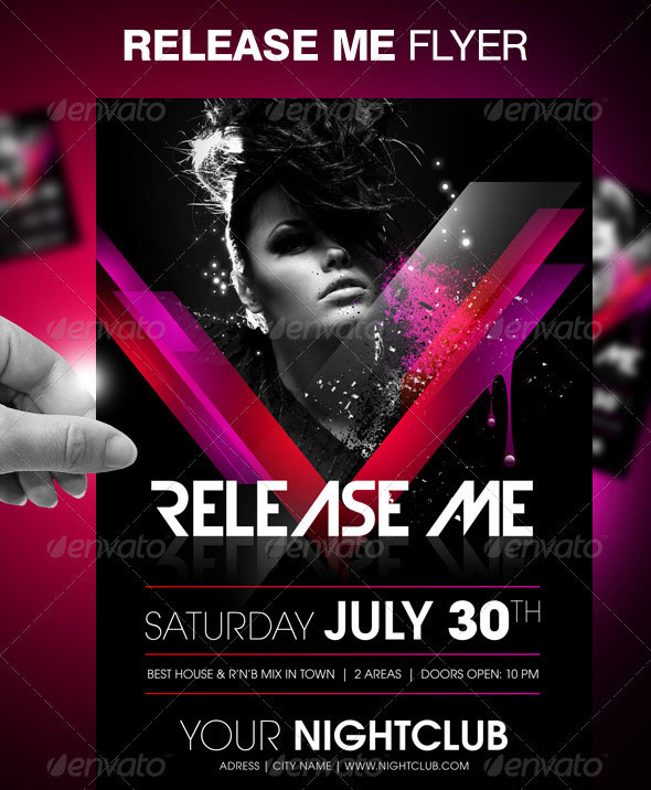 30 Vibrant & Colorful Party Flyer Templates | Web & Graphic Design