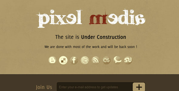 Pixel Media - Under Construction