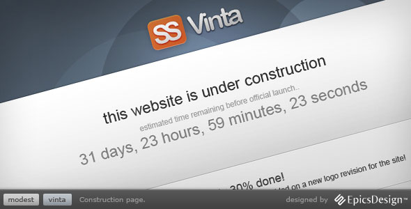 Vinta SS - Under Construction Page