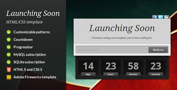 45 Best Coming Soon Website Templates | Web & Graphic Design ...