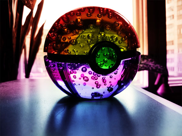 Rainbow Pokeball