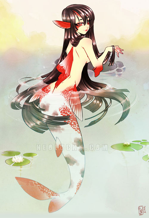 Koi Mermaid 2012