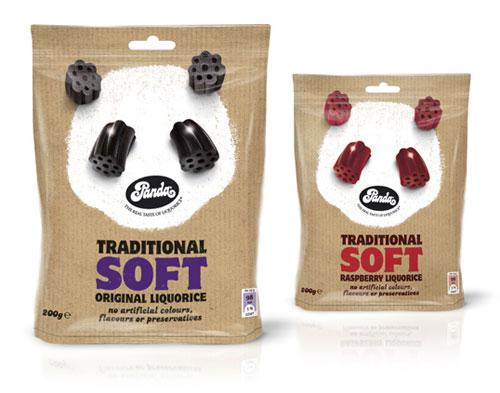Panda Traditional Soft Liquorice
