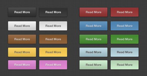 Versatile PSD Buttons