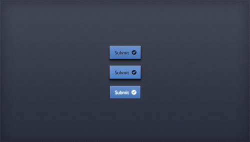 Submit Button – Free PSD