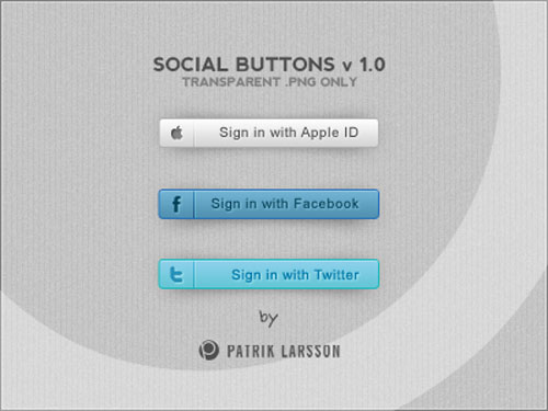Social Buttons v1.0