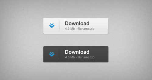 Download buttons (Free PSD)