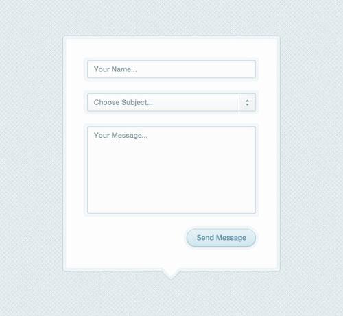 Modal Box Contact Form