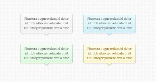 Transparent Tooltips (PSD)