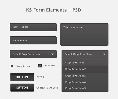 KS Form Elements