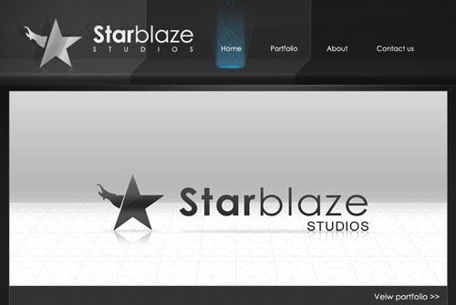 StarBlaze Free Premium PSD Site Template