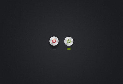 Circular Power Buttons