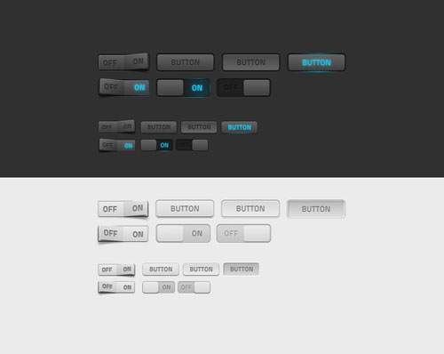 Some dark and light web elements