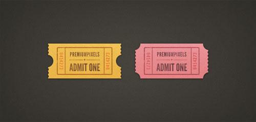 """""""Admit One"""" Ticket Stubs"""