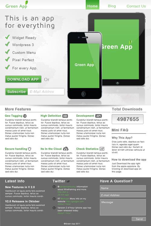 App Webtemplate