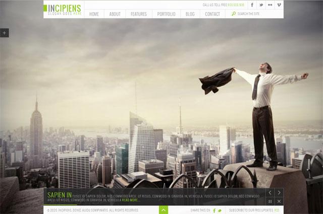 10 beautiful fullscreen background portfolio templates