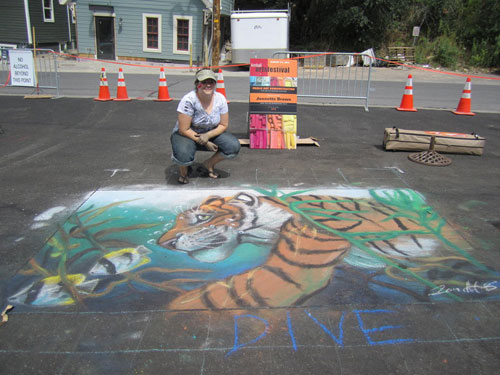 Kimball Arts Festival - Chalk Art 2012