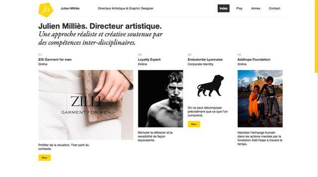 Julien Milli̬s РArt Director