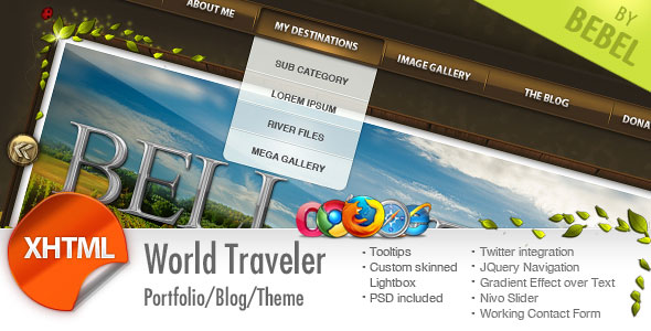 World Traveler Html
