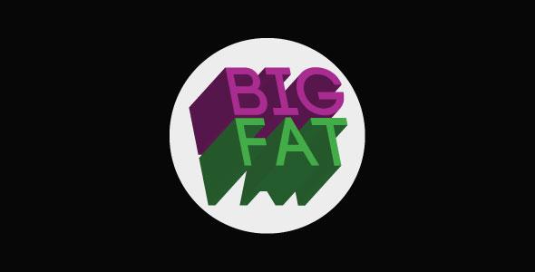 BigFat - Single Page Filterable Portfolio HTML5