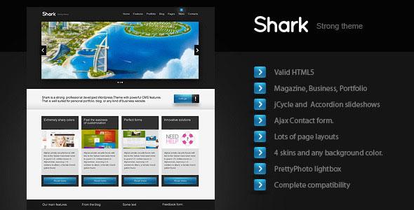 Shark – Business, Magazine, Portfolio (Html CSS)