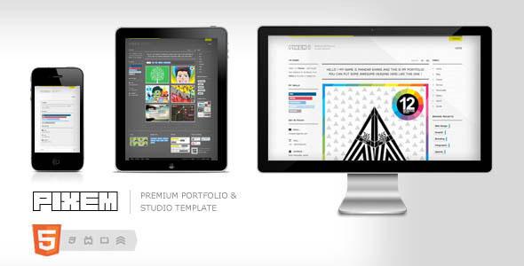 Pixem - Responsive Portfolio / Agency Template