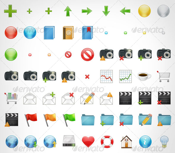 Function Premium Icon Set