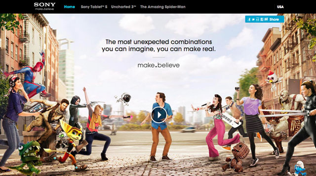 Sony make.believe