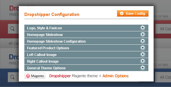 Dropshipper Magento Theme
