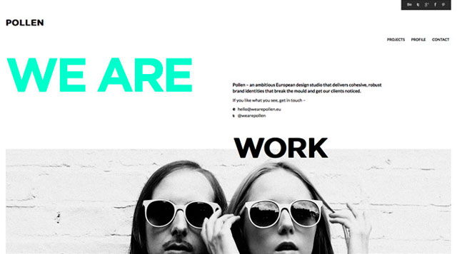43 minimalist web design examples web graphic design for Minimalist design inspiration