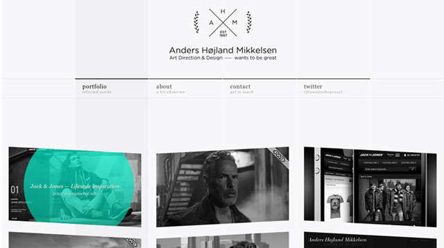 Anders  x  wants to be great