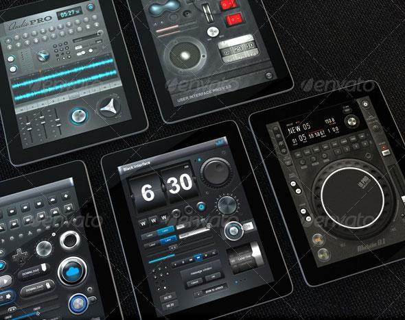 Tablet/Phone UI PROFESSIONAL SET BUNDLE