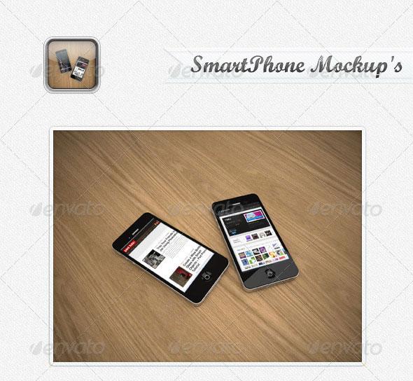 SmartPhone MockUp's