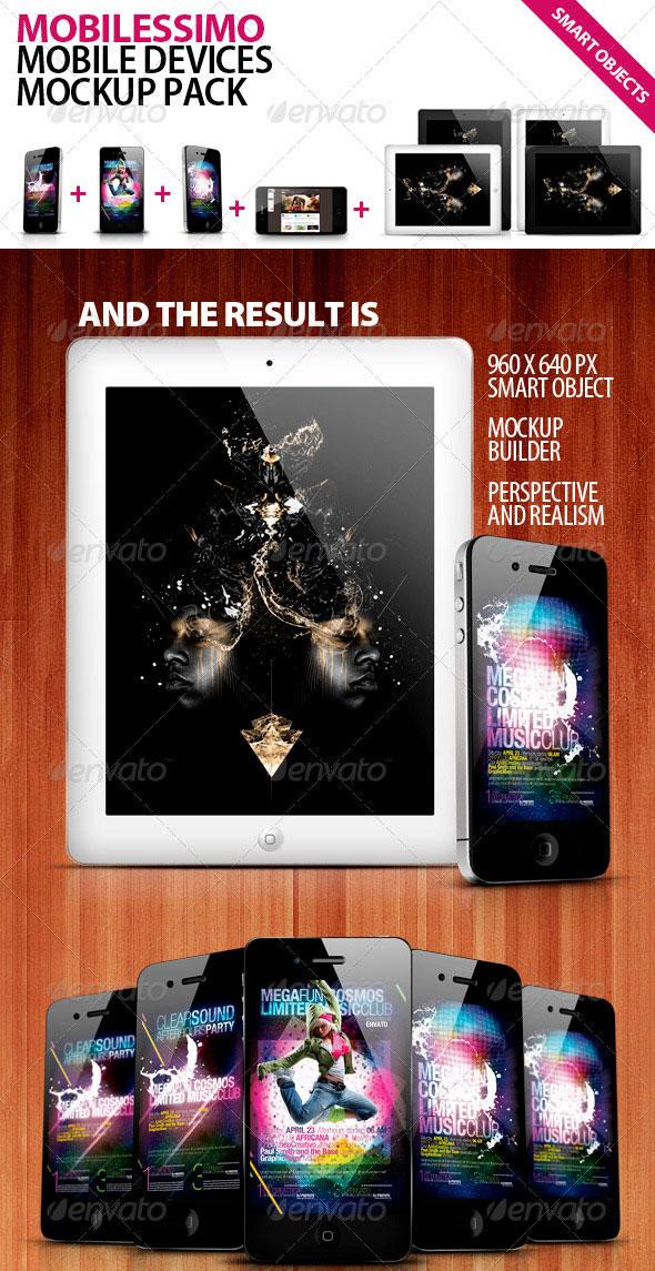 Mobilisimo Mobile Phone & Mobile Pad Mock-ups